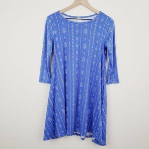 Honey & Lace Blue Dress NWT Size XS